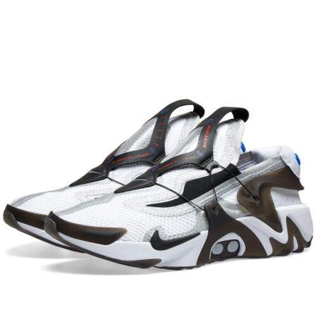 Nike Adapt Huarache белые с черным (40-44)