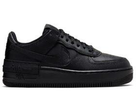Nike Air Force 1 Shadow черные (35-44)