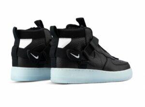 Nike Air Force 1 Utility Mid чёрные (40-44)