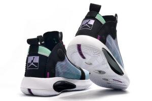 Nike Air Jordan 34 черно-зеленые (40-45)