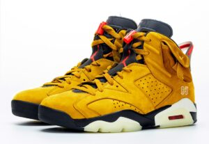 Nike Air Jordan 6 Travis Scott желтые (40-44)