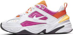 Nike m2k tekno белые-оранжевые-фиолетовые (35-39)