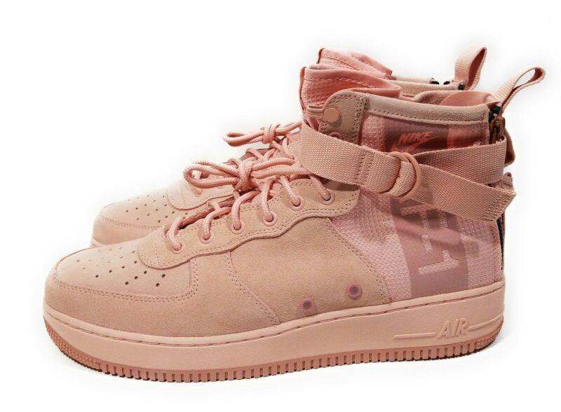 Nike SF Air Force 1 Mid розовые (35-39)