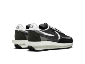 Nike Waffle Daybreak х Sacai серо-черные (40-44)