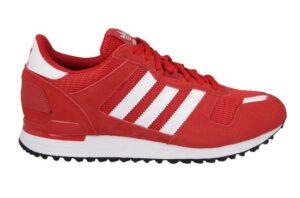 Adidas ZX 700 красные с белым (40-44)