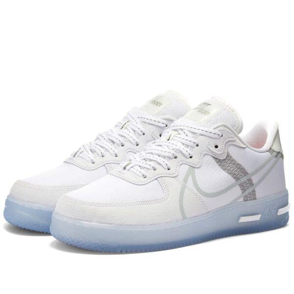 Nike Air Force 1 React QS белые (40-44)