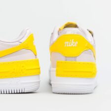 Nike Air Force 1 Shadow белые с желтым (35-39)