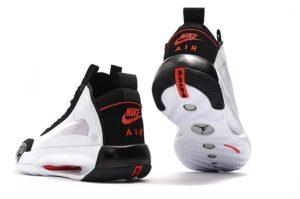 Nike Air Jordan 34 бело-черные (40-45)