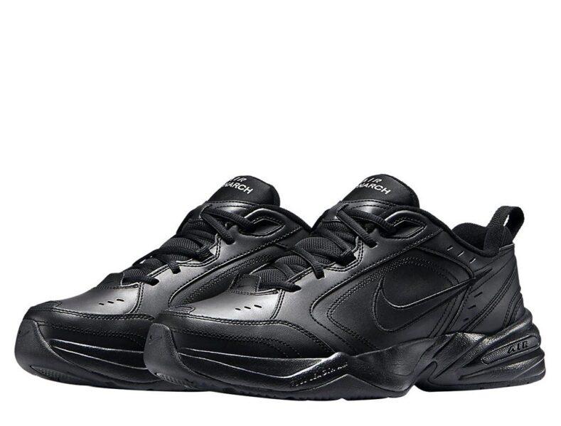 Nike Air Monarch черные (35-39)