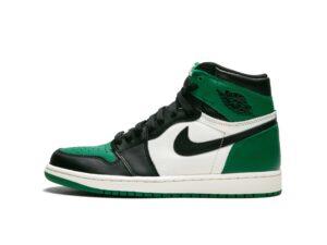 Nike Jordan 1 Retro бело-зелено-черные (35-45)