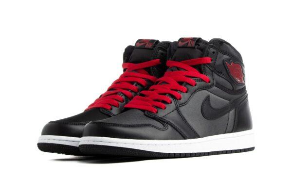 Nike Air Jordan 1 Rodeo черные кожаные мужские (40-45)