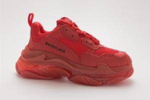 Balenciaga Triple S красные (36-39)