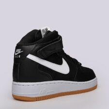 Nike Air Force 1 Mid 07 черные (40-44)