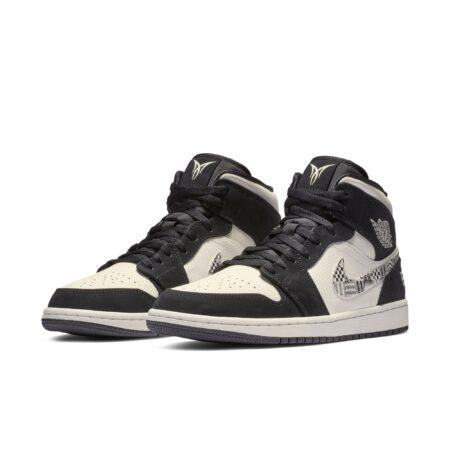 Nike Air Jordan 1 EQUALITY 2019 черно-белые (40-44)
