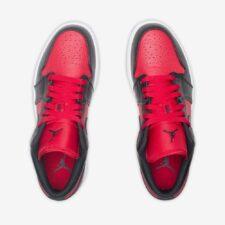 Nike Air Jordan 1 Low черно-красные (40-45)