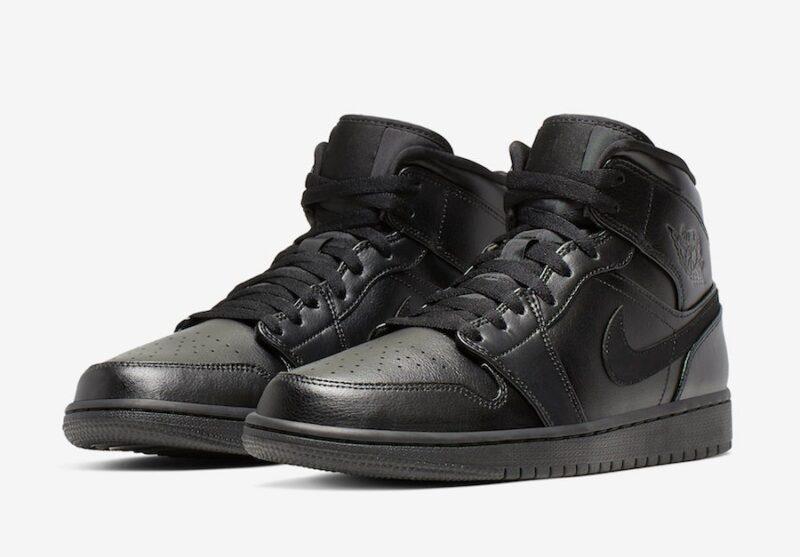 Nike Air Jordan 1 Retro черные (40-45)