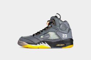 Nike Air Jordan 5 Retro SP серые (40-44)