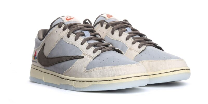Nike Dunk Travis Scott PLAYSTATION бело-голубые (40-44)