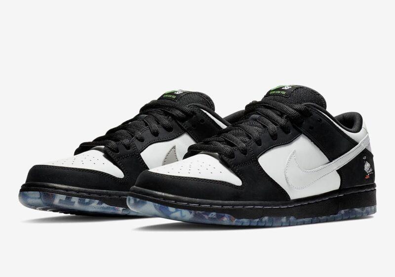 Nike SB Dunk Low Pro черно-белые (40-44)