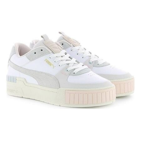 Puma Cali Sport Mix WN'S бело-серые (35-39)