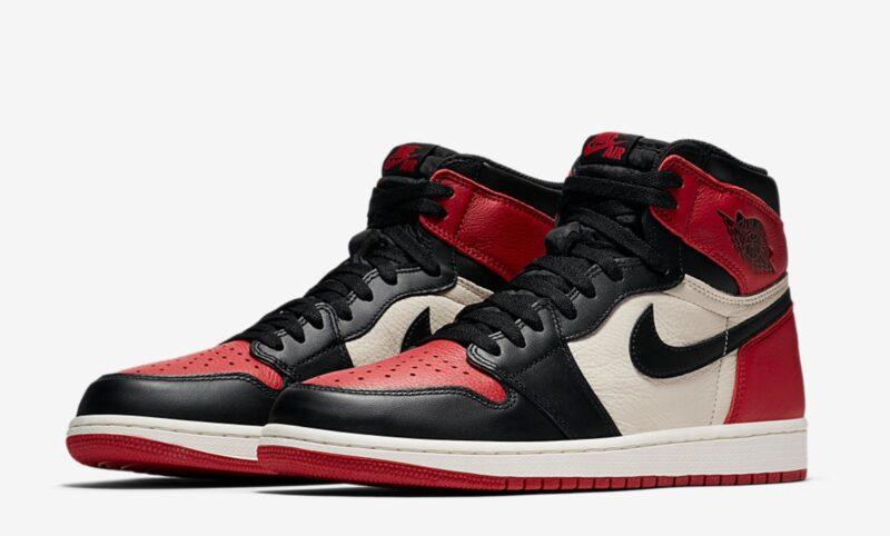 Зимние Nike Air Jordan 1 с мехом красно-черные с белым (35-44)