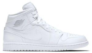 Nike Air Jordan 1 Retro High белые (35-44)