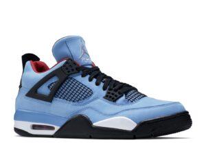Nike Air Jordan 4 Retro 'Cactus Jack' светло-синие (40-44)